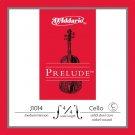 DAddario Prelude Cello Single C String 4/4 Scale Medium Tension