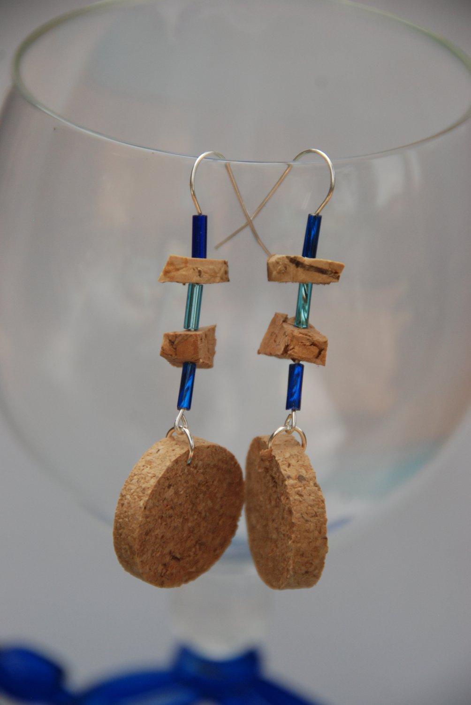 Wine Cork Earrings