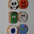 Halloween Wine Cork Magnets