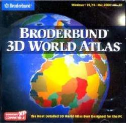 BRODERBUND 3D WORLD ATLAS