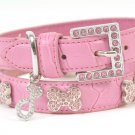 Oh La La Crystal Dog Collar (Pink)