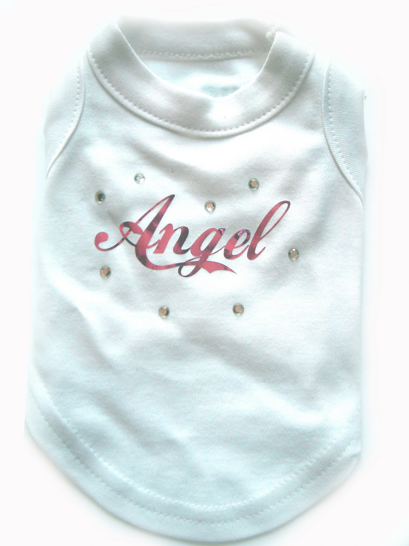 Angel Diamante Dog T-Shirt