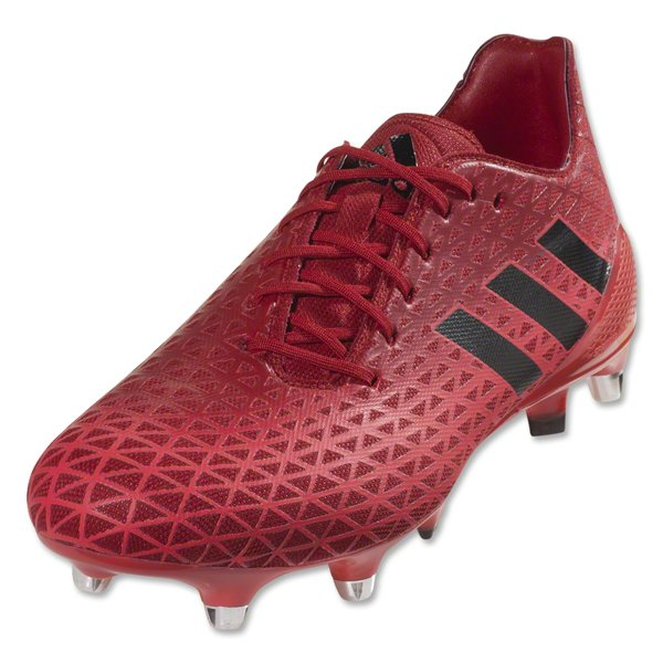 Adidas Crazyquick Malice SG Rugby Boots (Shock Red/Core Black/Power Red)