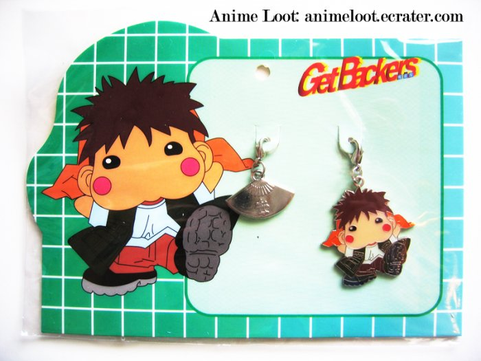 Get Backers Ginji Chibi Fastener Set