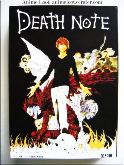 Death Note Super Rare 59 Art Cards Set