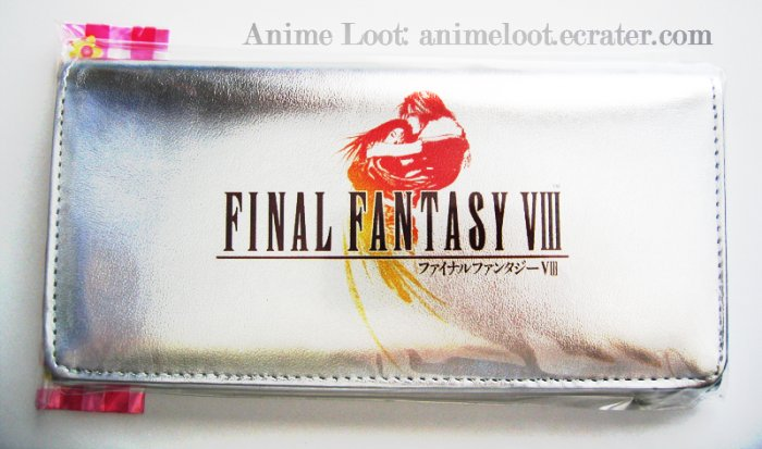 Final Fantasy VIII Long Silver Wallet