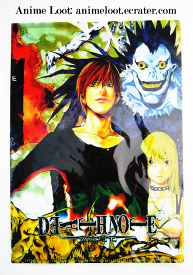 Death Note Clear File Style 2: Raito/ Light, Ryuk, and Misa