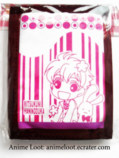 Ouran High School Host Club Burgundy Honey Wallet