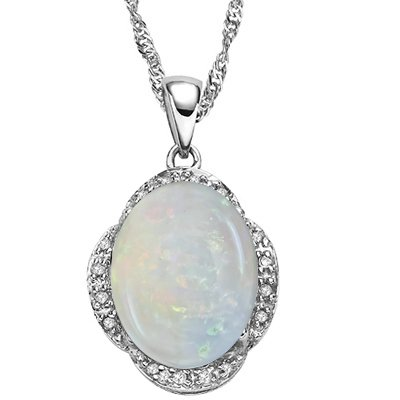 Stunning Opal Pendant