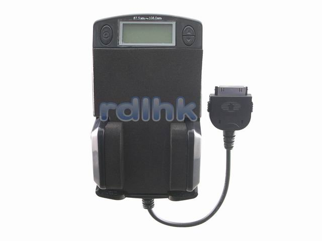 5-IN-1 FM Transmitter + Charger for APPLE IPOD (RDL-ES-6208)