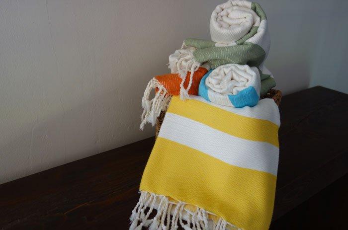 Turkish Towel/Peshtemal/yellow