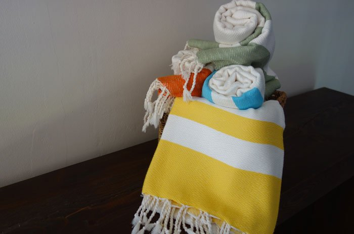 Turkish Towel/Peshtemal orange