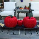 Handmaded Decorative Apples from Sisal