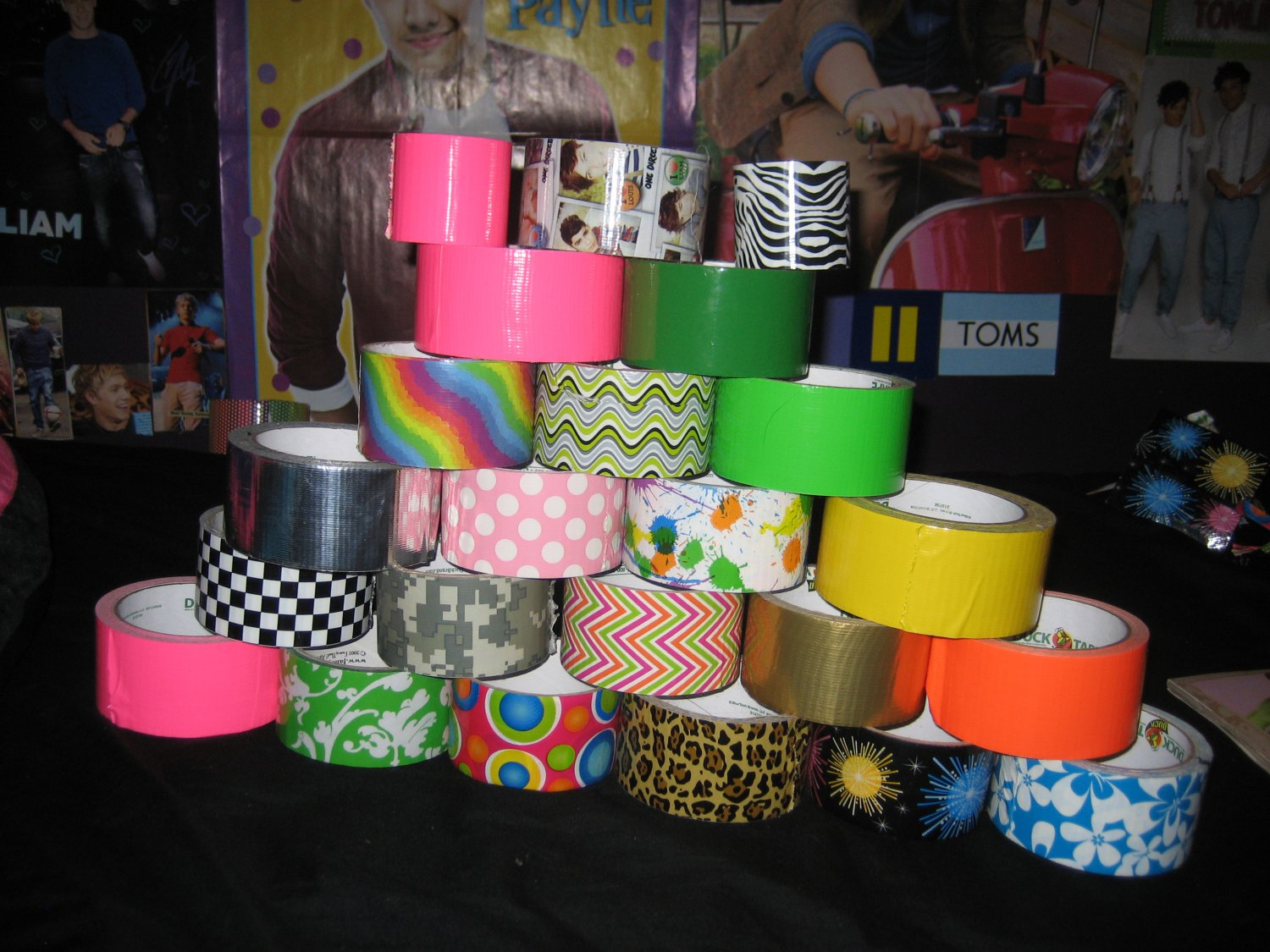 Duct Tape Choices