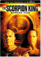 SCORPION KING: WARRIOR PACK (DVD MOVIES)