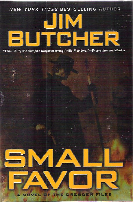 JIM BUTCHER - DRESDEN FILES Small Favor 1st/1st Signed