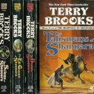 TERRY BROOKS - Heritage of Shannara Quadrilogy 4PBs