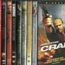 12 Action Movies - DVDs - Crank, Alexander, A.I. XXX