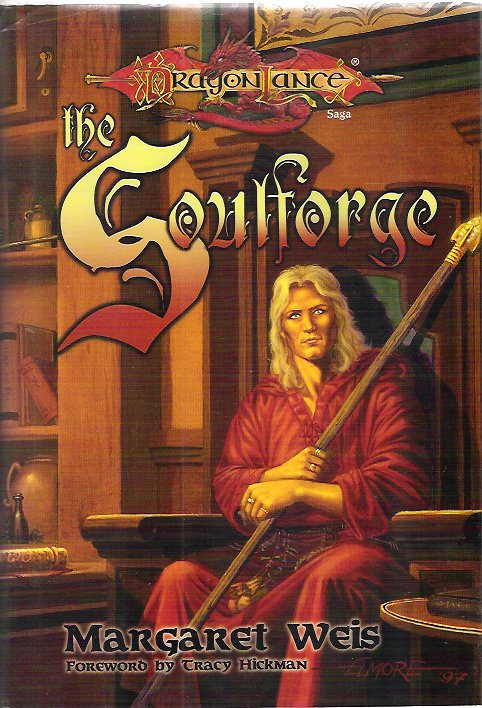 MARGARET WEIS - The Soulforge 1st/1st HBDJ  Dragonlance