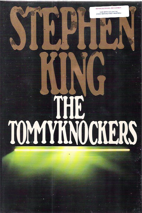 STEPHEN KING - The Tommyknockers 1st/1st HBDJ NF/NF