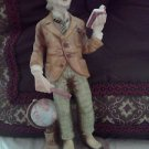 LEFTON PROFESSOR HAND PAINTED PORCELAIN FIGURINE GG~5682