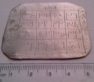 Arabic islamic metal amulet taweez against fear