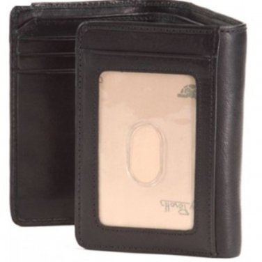Prima Tri-Fold Wallet with ID Window