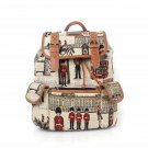 Embroidered Toy Soldier Canvas Back Pack