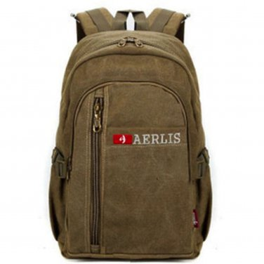 Suede Look Zipper Backpack