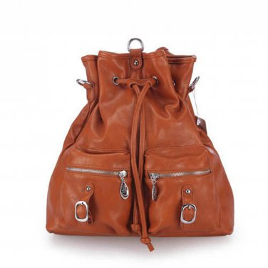 Vegan Leather Cinch Sack