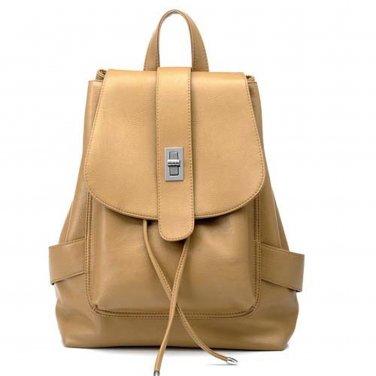 Decorative Buckle Vegan Leather Bag