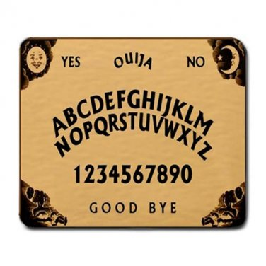 Ouija Board Large Mousepad
