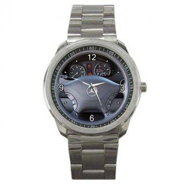 Read Basem's 2011 Mercedes-Benz Airstream Interstate 3500 Sport Metal Watch