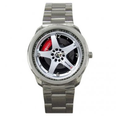 Daytona Blue Nismo Wheel Sport Metal Watch