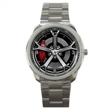 Nissan 370Z Nismo Coupe Rim Weel Sport Metal Watch