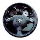 Alfa Romeo 147 T Spark Steering Wheel Round Mousepad