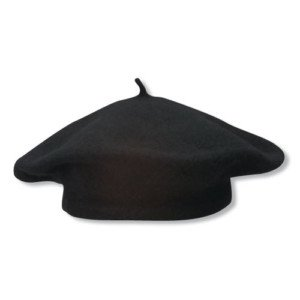 SCALA Global Trends Traditional Wool Beret-1 Size-Black