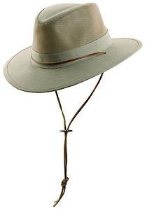 Summer Sun Shade Wide Brim-Bush/Boonie/Outback/Safari-Ventilation Hat-Tan-MEDIUM