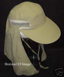 Full Neck Flap Sun Shade Cap-Fishing Hiking Hat