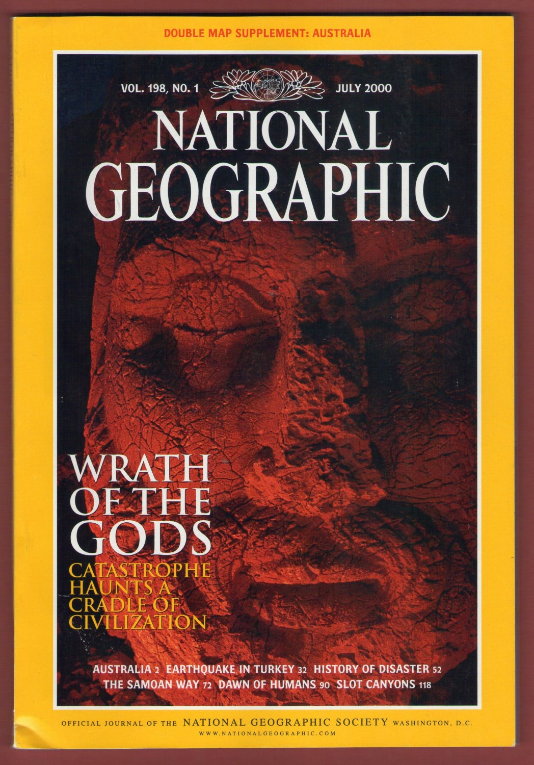 Vol. 198, No.1 July 2000 [!publisher:The National Geographic Society!] [!year:2000!]