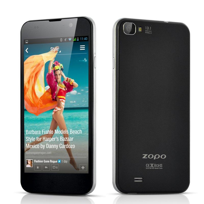 ZOPO ZP980 1.5GHz Quad Android 4.2 Core Retina Screen 2 GB RAM, 32 GB Internal