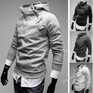 NDD-58628-33 Cotton Long Sleeve Hoodie Coat Pullover for Men