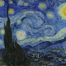 """PAINTING / FAMOUS, FREE WORLDWIDE SHIPPING vangogh49-48""""X 72""""-600  The Starry Night"""