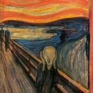 "PAINTING / FAMOUS, FREE WORLDWIDE SHIPPING munch32-48"" X 72""-600 The Scream"