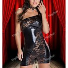 DRESS , FREE WORLDWIDE SHIPPING  NWX-111647-22 Lace One Shoulder Skinny One Piece for Lady