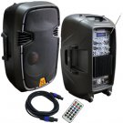 Mr. Dj PBX-2130BTPK 12-Inch Full Range Speaker System Package B00DFZDSN8-AM-900  (DJ Equipment)