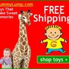 GUMMY LUMP TOYS: Toys that make sweet memories.