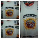 SUBLIME white tank top shirt 90'S Tee Sublime tank top T shirt rock band S-XL
