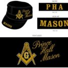 Prince Hall Masonic Mason Cap P.H.A Prince Hall Hat