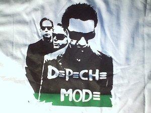 DEPECHE MODE White short sleeve T shirt NWOT S-3XL Retro 80's Tee Depeche Mode